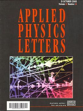 appl phys lett applied physics letters