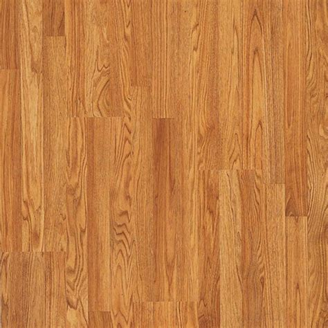 shop pergo max 7 61 in w x 3 96 ft l butterscotch oak embossed wood plank laminate flooring at