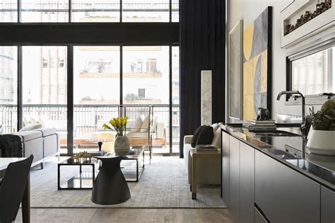 contemporary and sophisticated apartment interior design modern industrial interior design in beautiful open