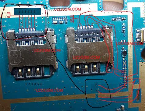 Ic Power Samsung J1 samsung galaxy j1 ace j110 insert sim ic solution jumper