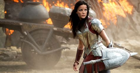 jaimie alexander confirms thor 3 and that s she s jaimie alexander talks thor ragnarok and captain