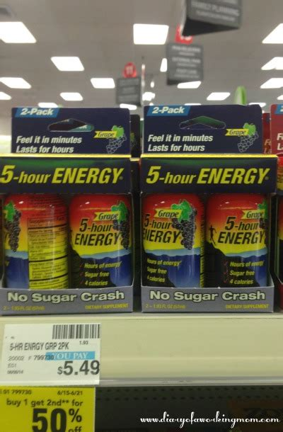 5 Hour Energy Shelf by 5 Hour Energy 174 The Secret Ingredient In Busy Summer Survival Kit Diary Of A