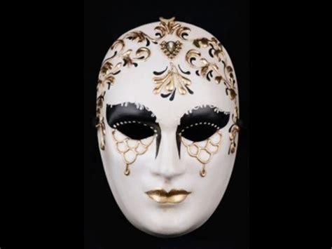 volto mask volto bi color venetian mask