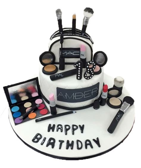 Make Up Mac mac make up cake