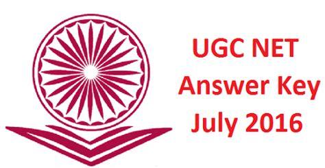 pattern of ugc net 2016 answer key archives edumovlive