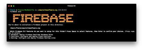 start  firebase hosting