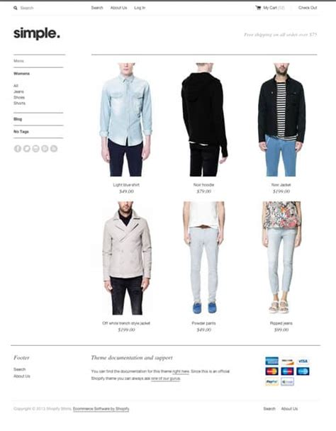 themes supported by shopify best free premium shopify themes templates 56pixels com