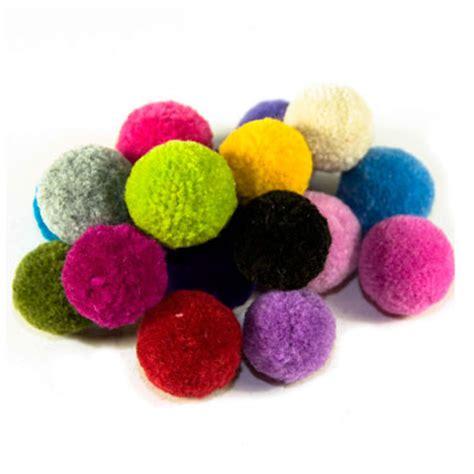 pom pomeranians wool pom poms