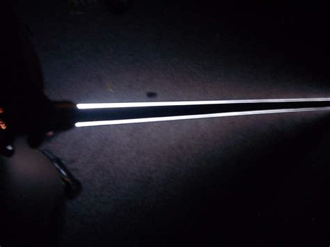 white and black light saber wars amino
