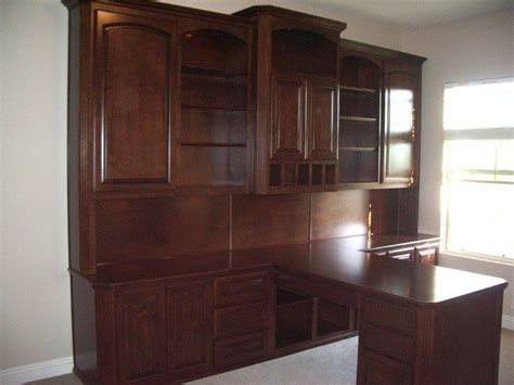 built in cabinets for office images