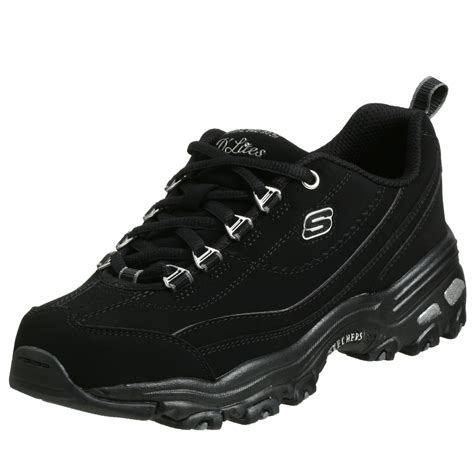 skechers black sneakers skechers s d lites raptures sneaker black sneakers