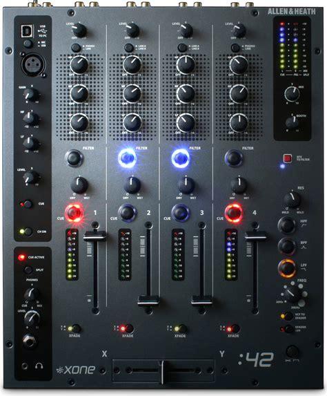 Mixer Allen Heath 4 Channel allen and heath xone 42 professional 4 channel dj mixer