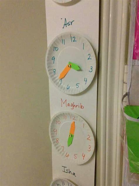 Bag Hanger Religi Moslem prayer times on clocks it ideas