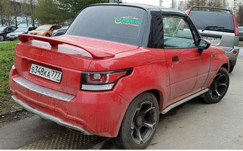 Suzuki Convertible Suzuki X 90 Tuned Into Range Rover Evoque Convertible