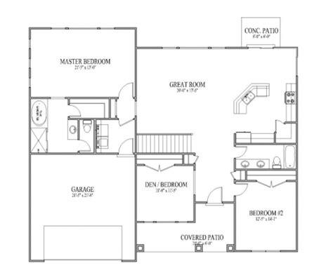 small open floor plan ideas open plan 3 bedrooms house floor plans