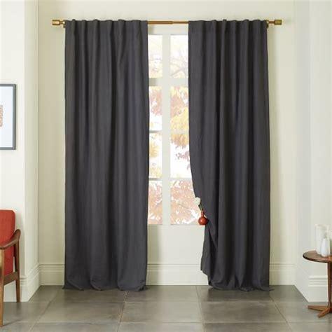 belgian linen drapes belgian flax linen curtain slate west elm