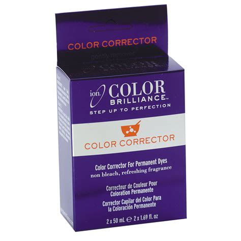 ion color brilliance color corrector ion at home