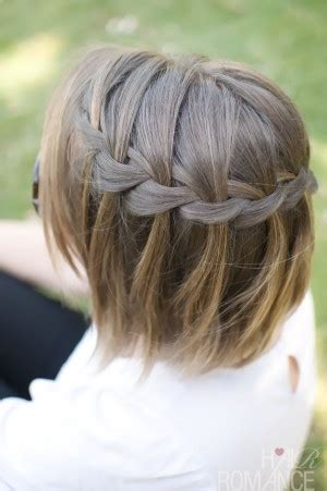 waterfall braid headband step by step how to braided headband tutorial step by step