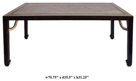 rectangular drawing dining table