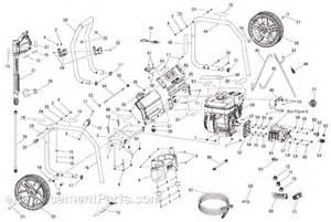 ridgid pressure washer parts diagram ridgid rd80903 parts list and diagram ereplacementparts