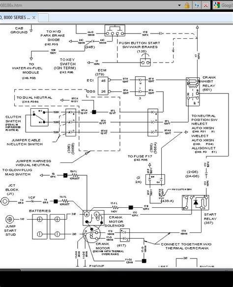 international 4700 dt466e starter wiring diagram get