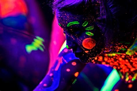 Black Light L by D E L I R I U M Black Light Photography The Silent