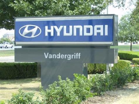Hyundai Vandergriff by Vandergriff Hyundai Car Dealership In Arlington Tx 76017