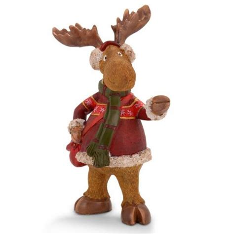 buy large resin christmas reindeer ornament for the home