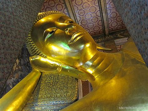 wat pho reclining buddha photo at wat pho temple of the reclining buddha bangkok thailand