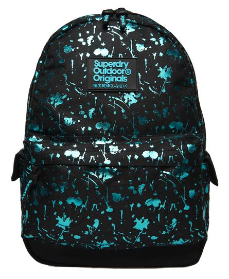 Splatter Montana Backpack Superdry womens bags shop bags for womens superdry