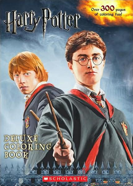 harry potter deluxe coloring book harry potter deluxe coloring book by scholastic paperback