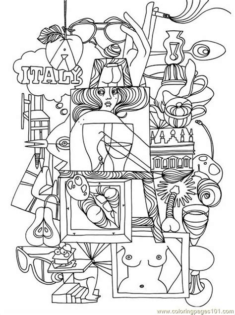 italy coloring pages to print coloring pages