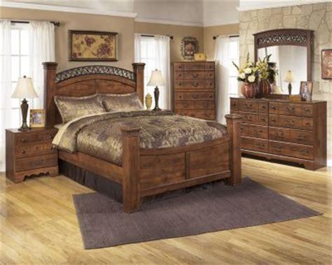 timberline bedroom set ashley timberline 4 piece queen poster bedroom set