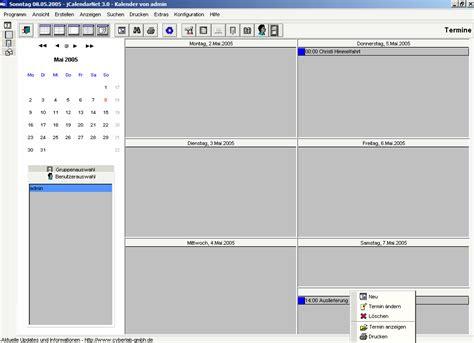 J Calendar Jcalendar Desktopkalender Mit Terminverwaltung Dr Windows