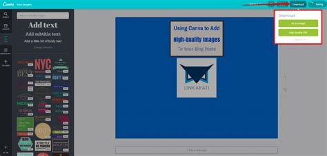 canva download quality using canva to create high quality images for blog posts