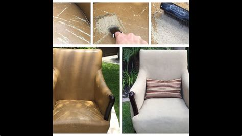 How To Repair Flaking Leather by Bonded Leather Peeling Repair Chair Fix