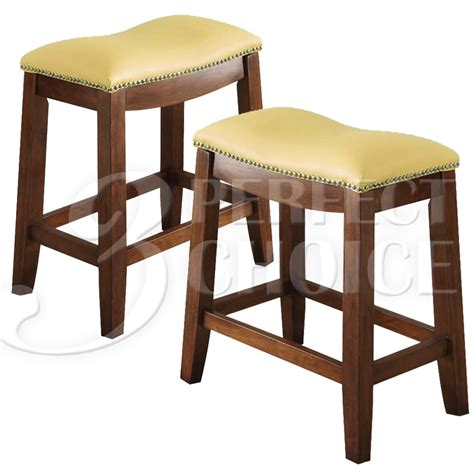 delta set of 2 counter height bar saddle stool chair