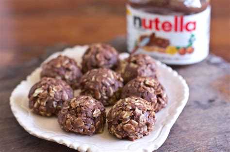 no bake nutella oatmeal cookies recipe dishmaps