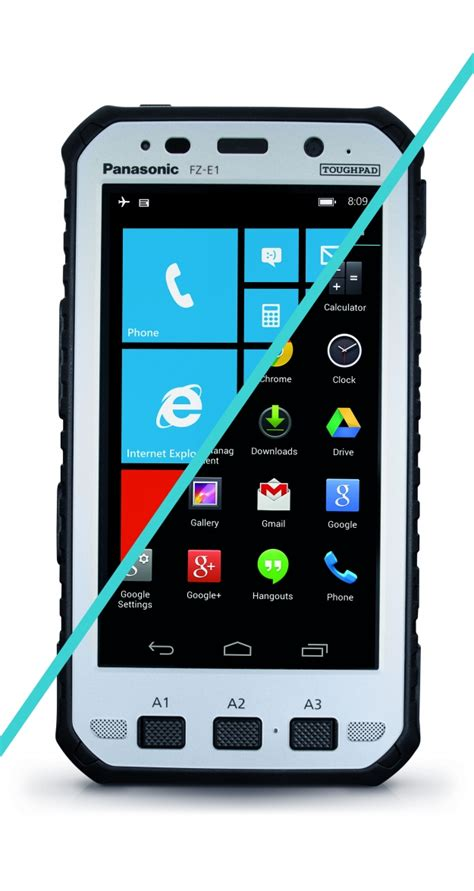 rugged mobile devices panasonic launches one of the world s most rugged 5 inch handheld tablet with data and voice