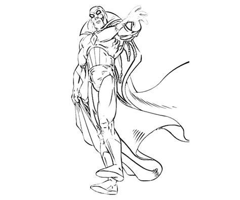 X Men Vision Ability Yumiko Fujiwara Vision Coloring Page