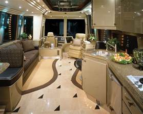 Motor Home Interior by Gallery For Gt Prevost Motorhomes Interior