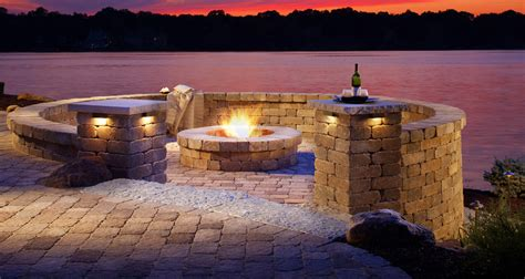 fire pit design ideas outdoor living by belgard