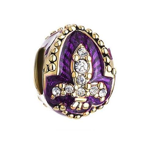 charms for jewelry wholesale wholesale free shipping amethyst purple fleur de lis charm