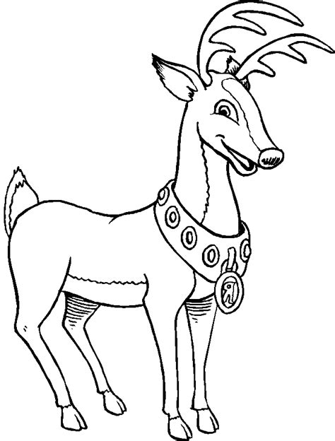 Reindeer Coloring Pages Az Coloring Pages Coloring Pictures Reindeer