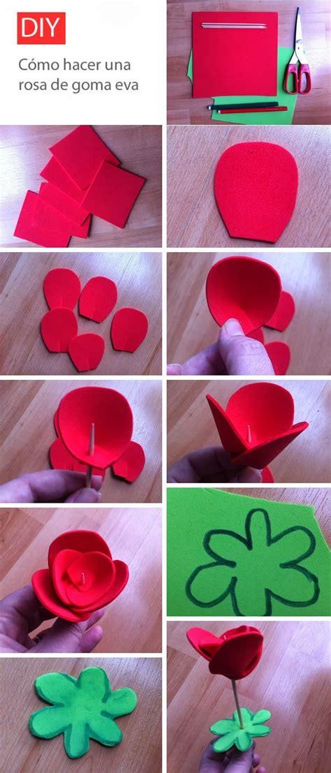 diy como hacer hojas realistas de goma eva para flores 17 mejores ideas sobre flores de fomi en pinterest