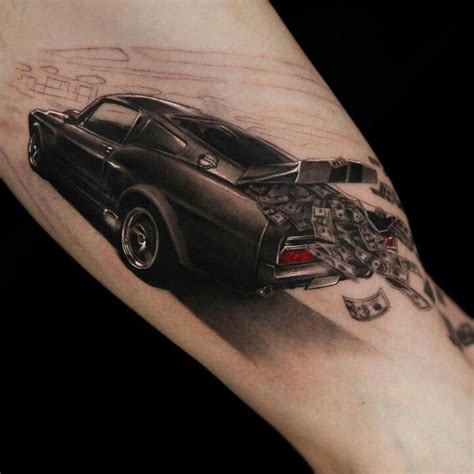 car related tattoos money and lovely car tattoomagz