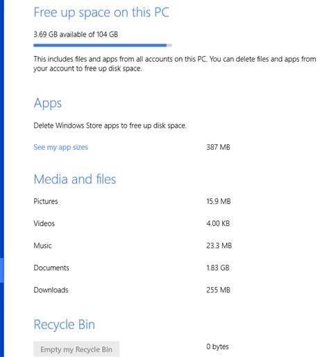 how do i free up space on my android phone how to free up space on your windows 8 pc