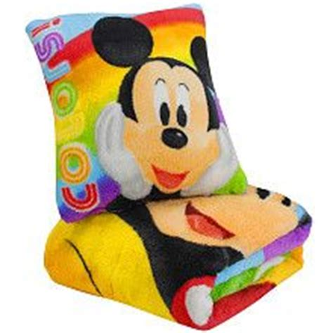 mickey mouse pillow and blanket set mickey mouse micro plush pillow and blanket set kid