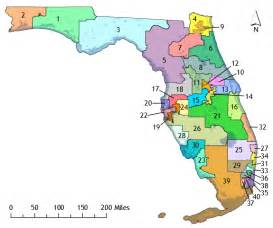 florida senate district map district maps the florida senate