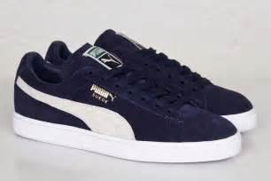 Light Blue Pumas Puma Suede Classic Quot Peacoat Amp White Quot Eu Kicks Sneaker
